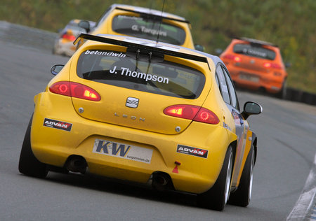 WTCC in Oschersleben (Kategorie Tourenwagen) - James Thompson im SETA Leon S2000